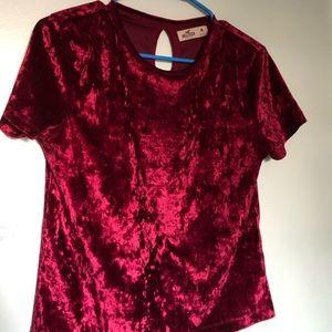 Hollister Velvet Baby T- Shirt